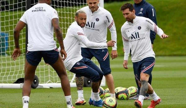 Messi could make his PSG debut against Brest on Friday.