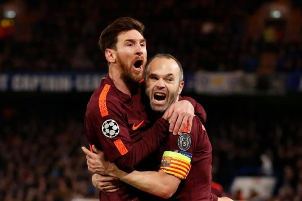 Iniesta admits it hurts to see Messi wearing another team kit